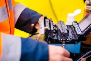 raccordement fibre optique-déploiement-maintenance